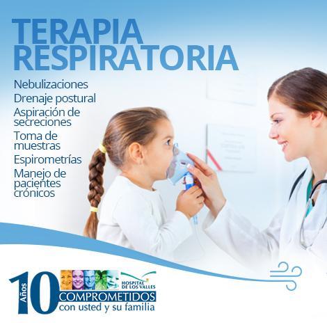 Hospital de los Valles – Terapia Respiratoria en el ...