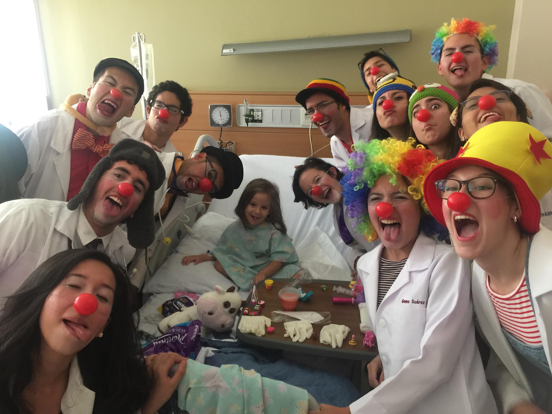 Clown Hospitalario 3