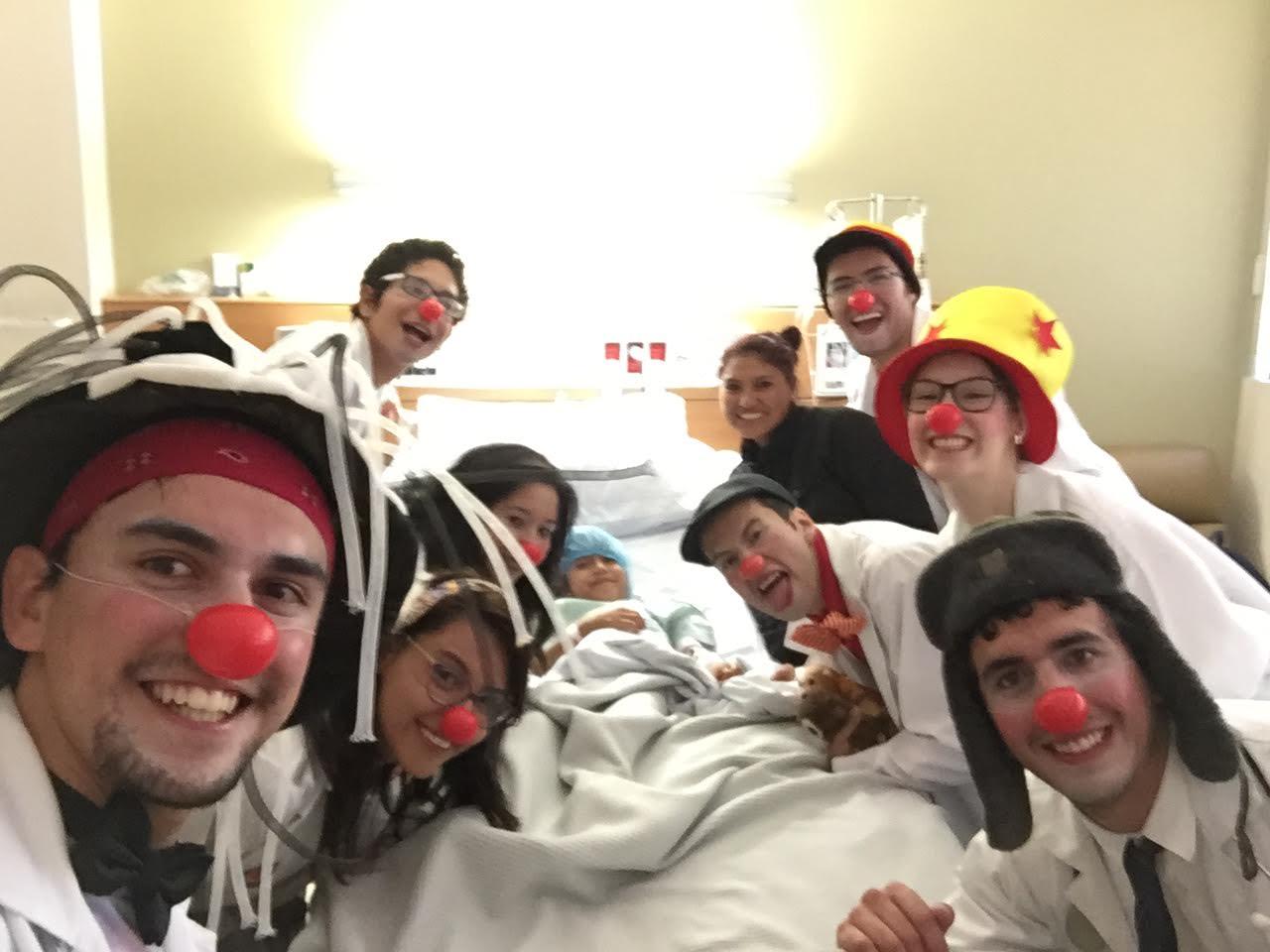 clown hospitalario